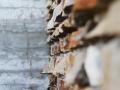 Beton gegen Bruchstein