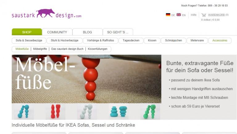 Produktshooting für saustark design in München