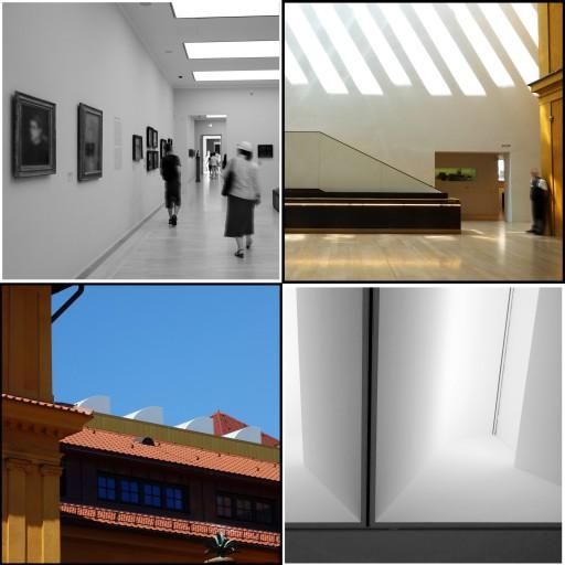 Belichtungsprinzip, Kunstpräsentation