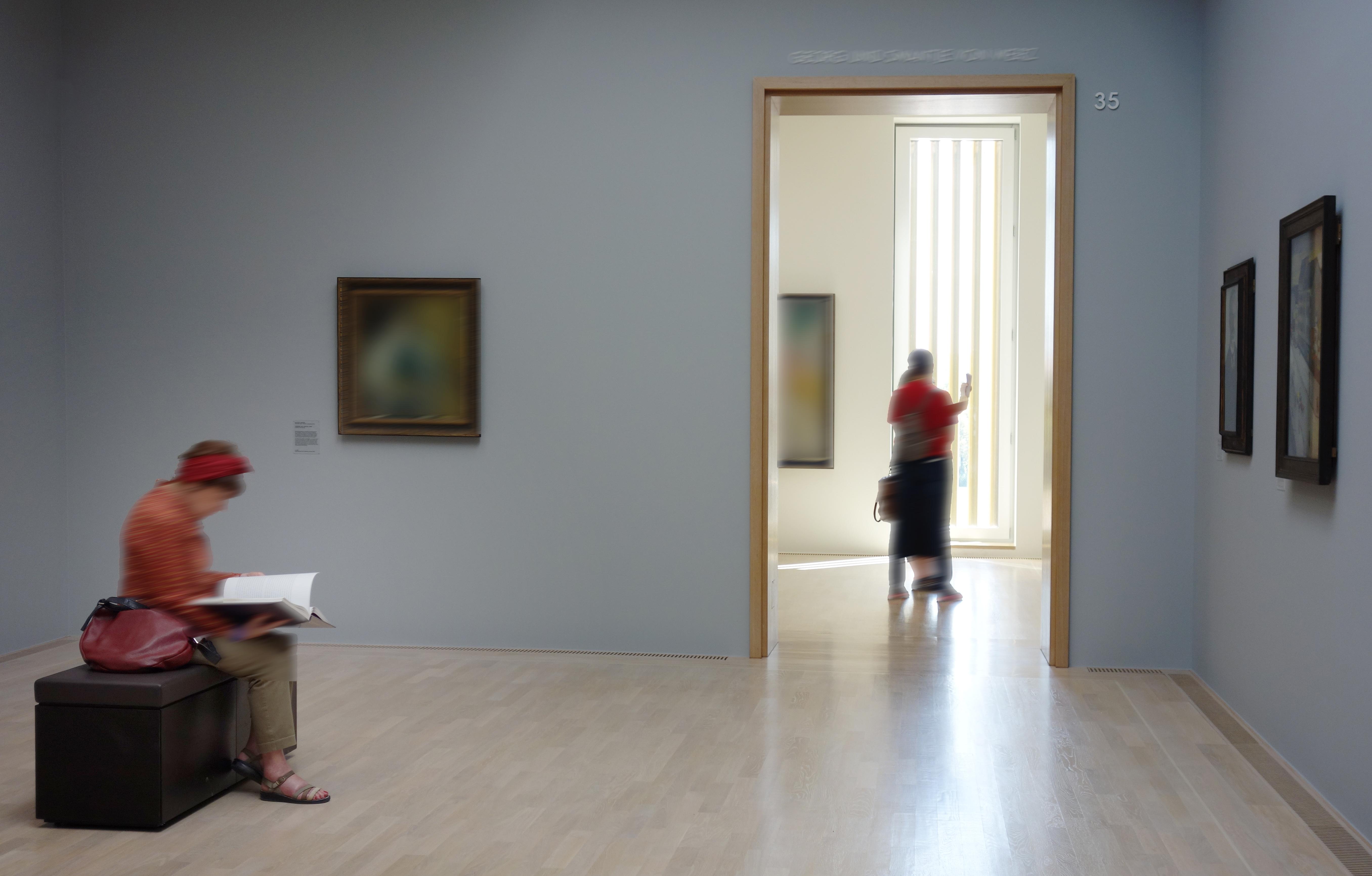 Kunstpräsentation - zur Betrachtung von Kunst im Museum