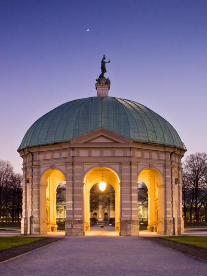 Fotografie in der Dämmerung und Nachtfotografie - Hofgarten
