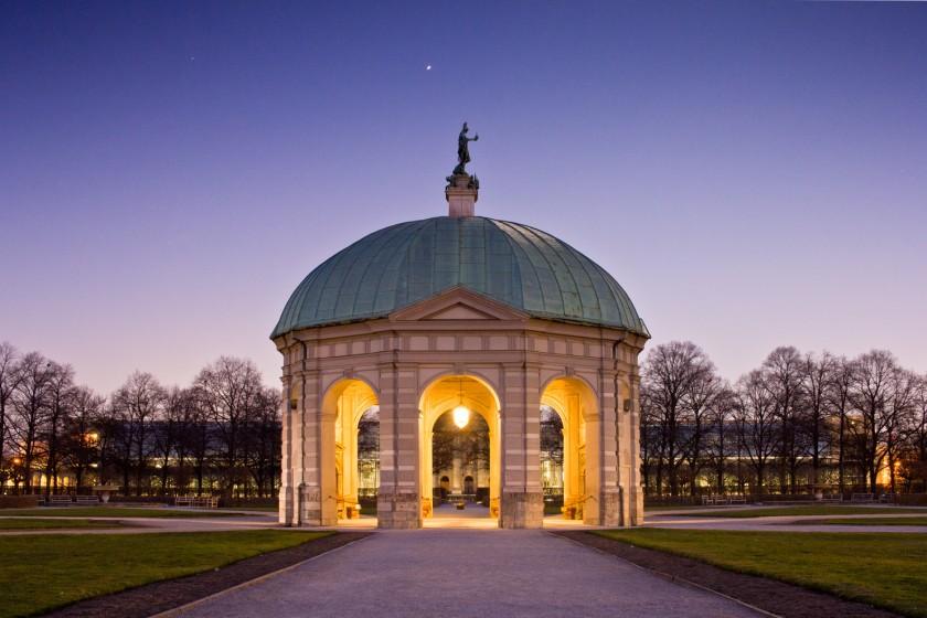 Blaue Stunde im Hofgarten