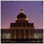 Fotografie in der Dämmerung und Nachtfotografie - die Staatskanzlei