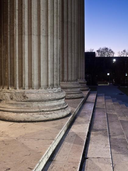 Am Königsplatz zur Blauen Stunde - Fotografie in der Dämmerung